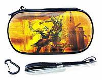 Чехол на молнии с 3D картинкой PSP 1000/2000/3000 3in1 3D picture, God Of War 3, фото 1