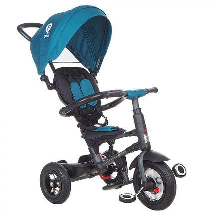 Детский 3-х колесный велосипед Qplay Бирюзовый, фото 2