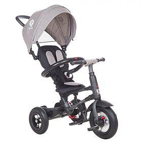 Детский 3-х колесный велосипед Qplay Серый