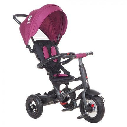 Детский 3-х колесный велосипед Qplay Фиолетовый, фото 2