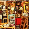 Румбокс Библиотека со светодиодной подсветкой Sam's study Diy House, фото 10