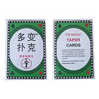 It's taper cards
