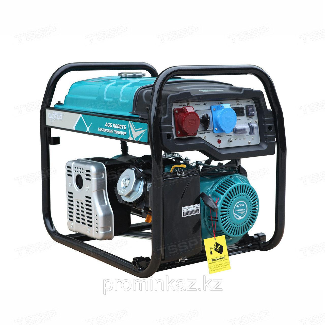 Бензиновый генератор ALTECO AGG 11000TE DUO- 8.5кВт с АВР