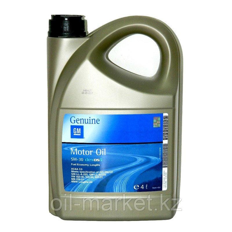 Моторное масло GM DEXOS2 5W-30 (EU) 4L 1942002