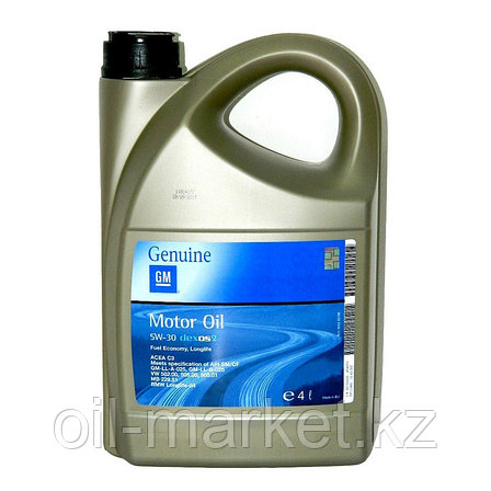 Моторное масло GM DEXOS2 5W-30 (EU) 4L 1942002, фото 2