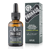 PRORASO Cypress & Vetyver (Масло для бороды)
