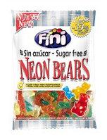 """Жев.мармелад """"Neon Bears Sugar Free"""" Неоновые Мишки диабетические (без сахара) 100 гр   /FINI Испания/"""
