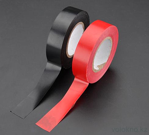 Изолента ПВХ 20м черная