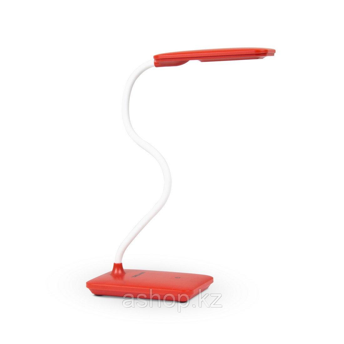 Лампа настольная светодиодная (LED) Deluxe DLTL-102R-6W, Регулировка яркости: 3 степени яркости, Цветовая темп