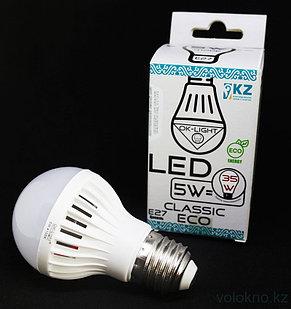 Лампа светодиодная серии CLASSIC 5W цоколь Е27 4100К Натуральный белый свет