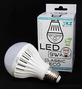 Лампа светодиодная серии CLASSIC 9W цоколь Е27 4100К Натуральный белый свет