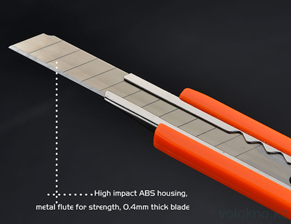 Монтажный нож 9мм