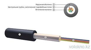 Оптический кабель для прокладки в пластмассовый трубопровод ОК-Т На основе центральной трубки