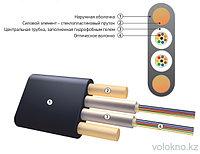Оптический кабель подвесной (плоский кабель) ОК/Д2-Т2