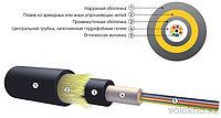 Оптический кабель подвесной самонесущий ОКА-Т На основе центральной трубки
