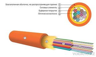 Оптический кабель распределительный типа ОКНГ (ВА)