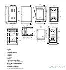 Телекоммуникационный климатический шкаф ШКК-24U (напольный), фото 3