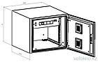 Телекоммуникационный климатический шкаф ШКК-9U (настенный), фото 2