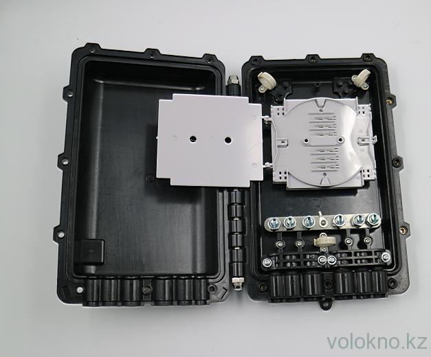 Волоконно-оптическая соединительная муфта универсальная тип книжка OK-FOSC-103-48F (до 48 волокон)