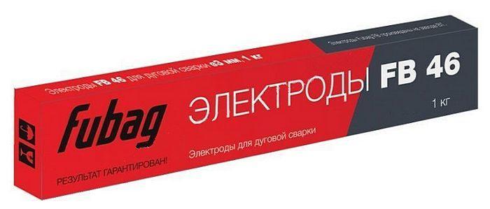 Электрод сварочный с рутилово-целлюлозным покрытием FB 46 D3.0 мм (пачка 1 кг)