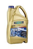 Синтетическое трансмиссионное масло RAVENOL ATF RED-1 4L