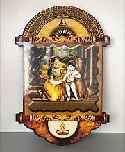 Картина 3D Кришна и Яшода!