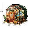 Румбокс Цветочный дом Кэти со светодиодной подсветкой Kit-Cathy's Flower House , фото 10