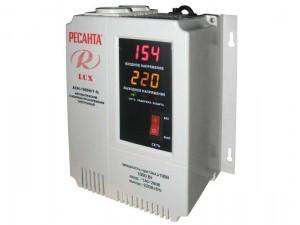Стабилизатор напряжения настенный Ресанта АСН-1000 Н/1-Ц Lux 1 кВт 220В