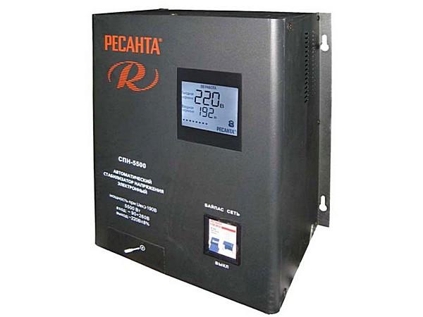 Стабилизатор РЕСАНТА СПН-5500 (8300Вт)