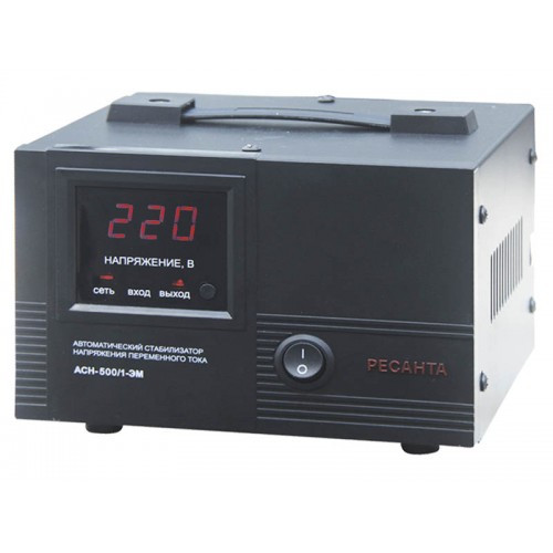 Стабилизатор АСН-500/1-ЭМ