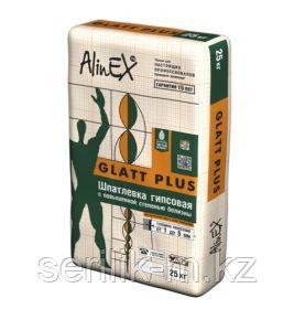 ALINEX-GLAT PLUS -ГИПСОВАЯ ШПАКЛЕВКА 25 КГ, фото 2