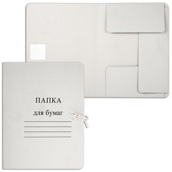Папка - скоросшиватель картонная Deluxe А4
