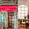 Румбокс Кофе Саймона со светодиодной подсветкой Simon's Coffee, фото 6