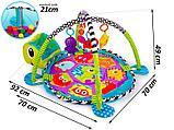 """Развивающий коврик манеж """"Весёлая черепаха"""", фото 3"""