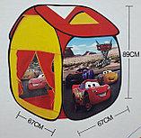 """Игровая палатка-домик """"Тачки"""" + 100 шариков в комплекте, фото 3"""