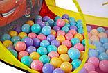 """Игровая палатка-домик """"Тачки"""" + 100 шариков в комплекте, фото 4"""