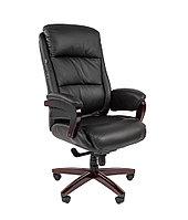 Кресло офисное для руководителя CHAIRMAN 404 кожа натуральная