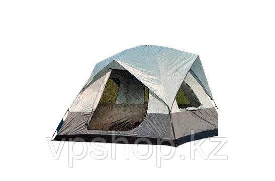 Палатка пятиместная кемпинговая с тамбуром и навесом Lanyu 1911, 360х310х180, доставка