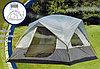 Палатка пятиместная кемпинговая с тамбуром и навесом Lanyu 1911, 360х310х180, доставка, фото 3