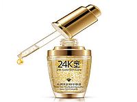 Сыворотка для лица с 24К золота и гиалуроновой кислотой