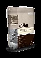 Сухой корм для собак с повышенной массой тела Acana Heritage Light & Fit