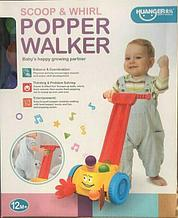 Игрушка-каталка с шариками Popper Walker