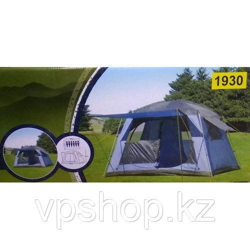 Палатка шестиместная туристическая LANYU 1930 с тамбуром, доставка