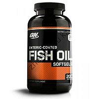 Омега 3 Optimum Nutrition Fish Oil (200 капсул)