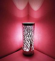 """Светильник - ночник """"Лес"""" (розовый), фото 1"""