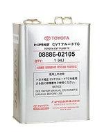 Трансмиссионное масло для Toyota CVT Fluid TC 08886-02505 4литра -->2014года