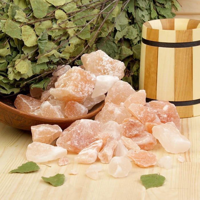 """Гималайская соль """"Добропаровъ"""", розовая, колотая, 50-120 мм, 2 кг"""