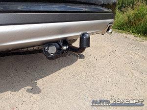 Фаркоп (оцинкованный, шар A), Hyundai Santa Fe Grand 2016-