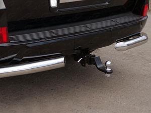 Фаркоп (оцинкованный, шар E нерж.), Lexus LX 450d 2015-
