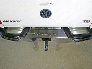 Фаркоп (оцинкованный, шар E нерж.), Volkswagen Amarok 2010-